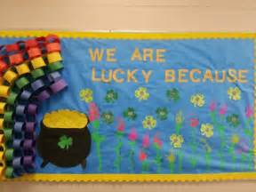 March Preschool Bulletin Board Ideas