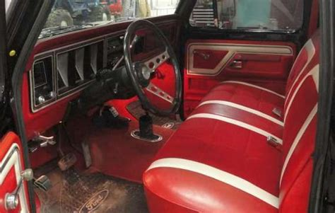 gallery   ford truck interior