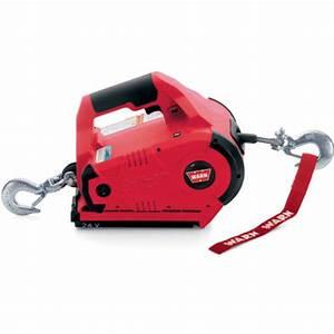 885005 Warn 1 000 Lbs Pullzall Battery Powered Winch