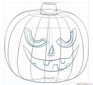 How To Draw A Jack Ou002639 Lantern Step By Step Drawing Tutorials