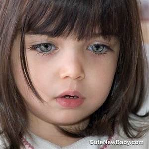 Baby Girl Face with Gray Eyes   Beautiful Children ...