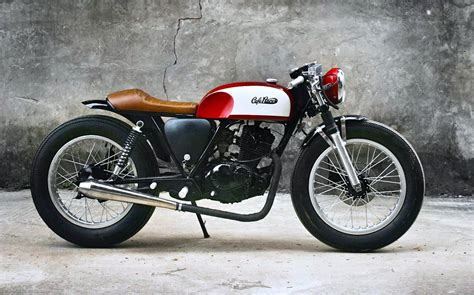 Cafe Racer : Duong Doan's Red Cafe Racer