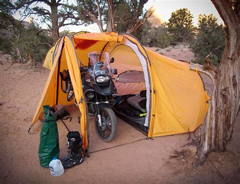 Tenere Motorcycle Expedition Tent • Gear Patrol