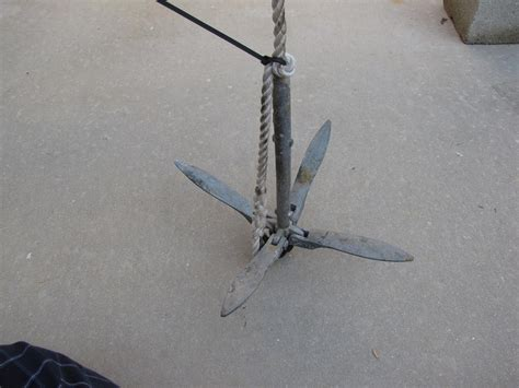 Boat Anchor Breakaway by Cheap Wreck Rock Anchor Project Pics The Hull