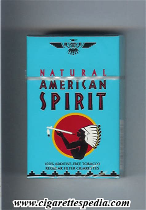 american spirit lights american spirit regular ks 20 h blue usa