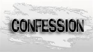 In A Word - Confession