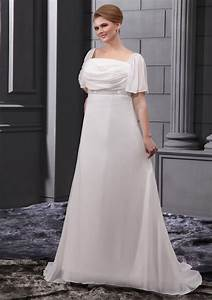 plus size wedding dresses with sleeves dressed up girl With plus size short wedding dresses with sleeves