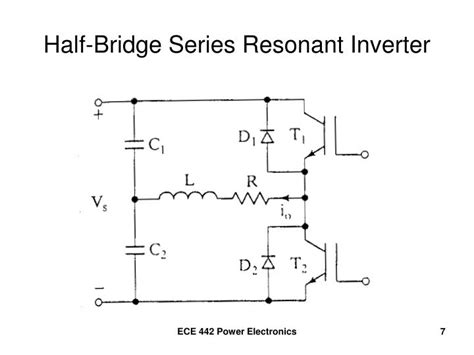 ppt series resonant inverter with bidirectional switch powerpoint presentation id 4188108