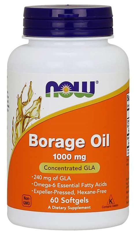 borage oil  mg softgels  foods