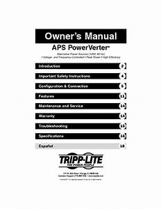 Alternative Power Source Manuals