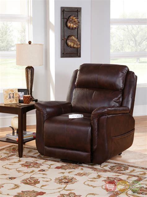 serta comfortlift norwhich brown wall hugger reclining