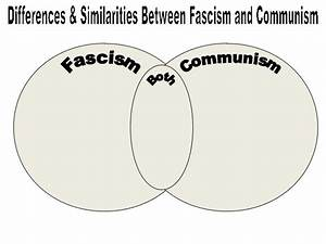Fascism Vs Communism Venn Diagram