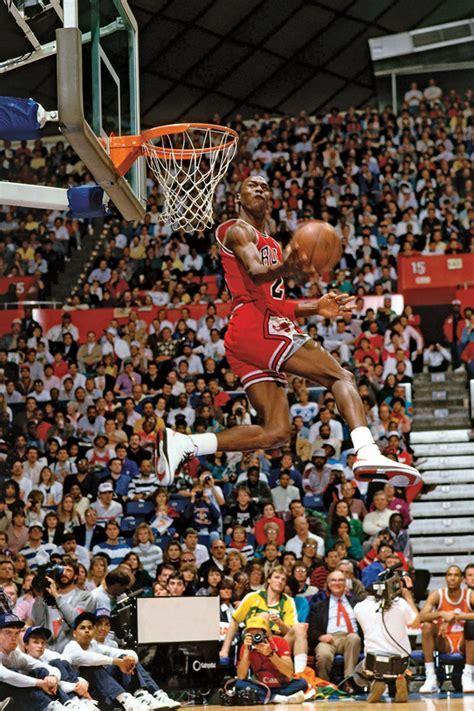 Michael Jordan Wins His First Dunk Contest   SneakerNews.com