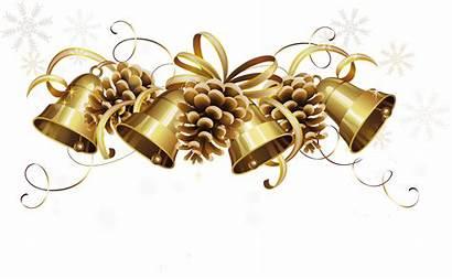 Bells Transparent Golden Noel Clipart Tree Tubes