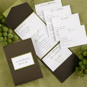 invite your guests with a great design of your pocket wedding invitations - Wedding Pocket Invitations