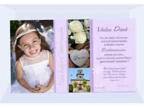 danksagung kommunion sprüche danksagung kommunion konfirmation danksagungskarte fotokarte flieder