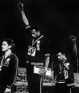 The 1968 Olympics Black Power Salute | It's Been 20 Years ...