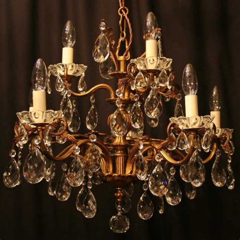 antique chandeliers for antiques atlas italian gilded 8 light antique chandelier