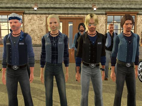 sons of anarchy kleidung sims 3 kutte quot sons of anarchy quot kleidung accessoires magic moon sims3