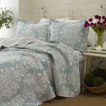 shabby chic bedding kohl s laura ashley rowland 3 pc quilt set king kohls com beach cottage decor bedroom