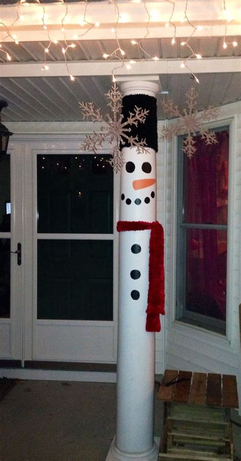 how to decorate a column front porch pillars porch pillars and front porches on pinterest