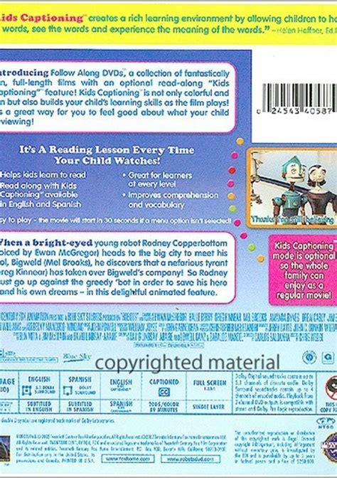 robots follow  dvd  dvd empire