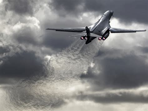 Rockwell B-1 Lancer Hd Wallpaper