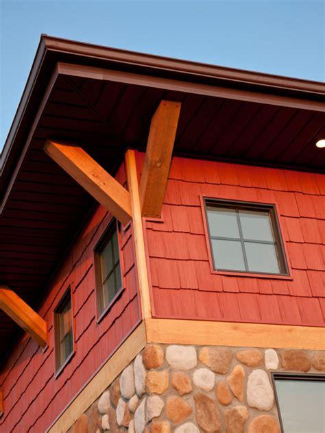 types  exterior stone house designs faux rock panels