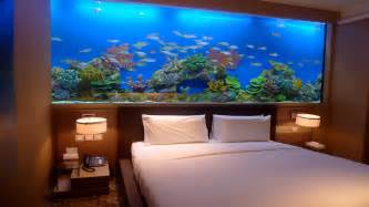 bedrooms ideas amazing home wall aquariums design ideas