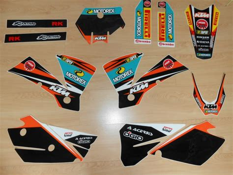 kit deco 125 sx 2006 kit d 233 co complet ktm sx sxf 2004 rd2shop fr