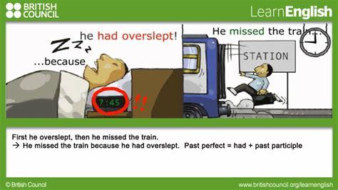 perfect johnny grammar learn english british