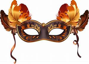 Carnival clipart venetian mask - Pencil and in color ...