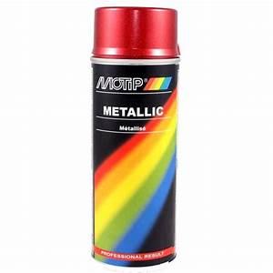 Peinture Epoxy Bombe : bombe de peinture rouge m tallis 400ml ~ Edinachiropracticcenter.com Idées de Décoration
