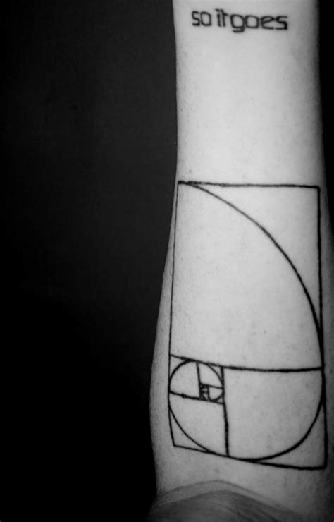 So it goes & Golden Spiral • Contrariwise: Literary Tattoos