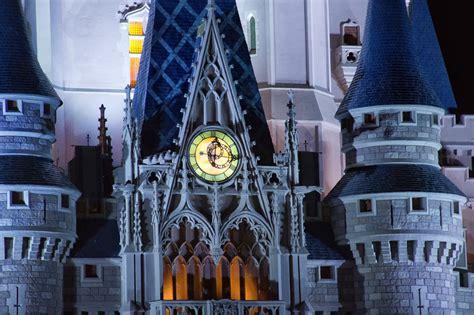 treklens repetition cinderella castle clock photo