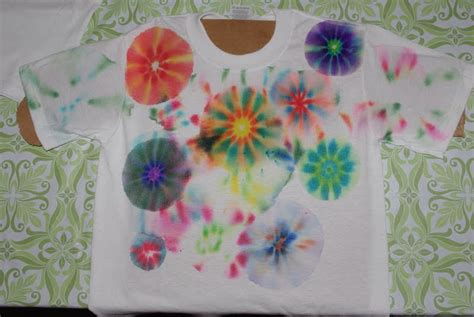 Decorating Fabric With Sharpies sharpie tie dye shirts tutorial happiness is