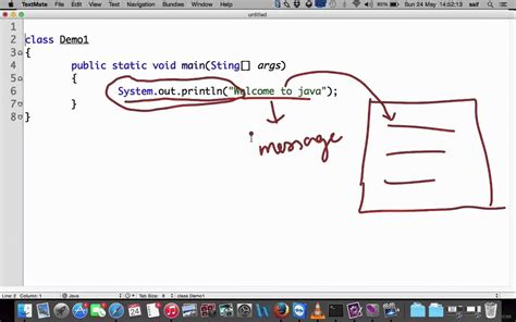 Java Basic  How To Write A Program  Welcome To Java ( In