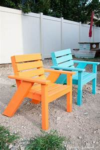 easy, diy, kids, patio, chairs