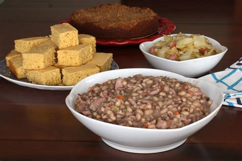 new years day dinner spicy southern black eyed peas recipe