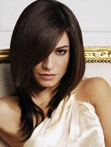 Vs Regular Size Chart Shoulder Length Straight With Side Bangs Wigs For Women