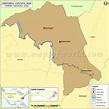 Mitchell County Map, North Carolina