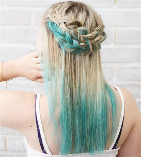 40 Fairy Like Blue Ombre Hairstyles Organized Chaos