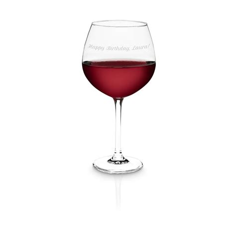 Bicchieri Da Rosso by Bicchiere Da Rosso Personalizzabile Regali It