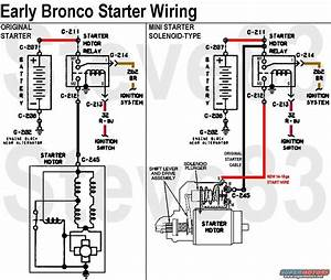 33 Ford Bronco Starter Solenoid Wiring Diagram