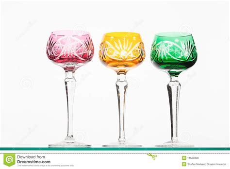 bicchieri cristallo prezzi bicchieri di colorati immagine stock immagine di