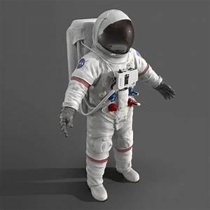 3d astronaut space suit model