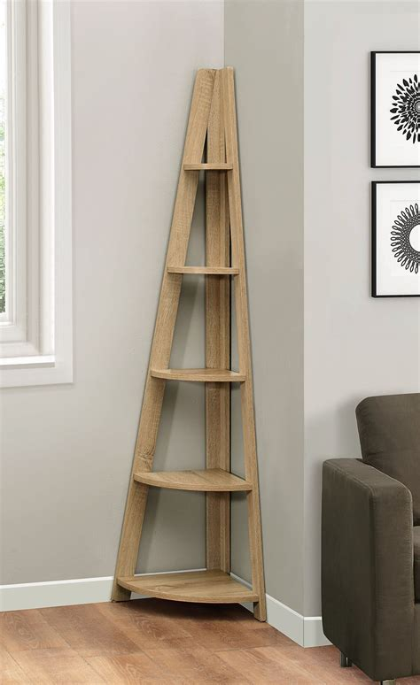 Ladder Bookcase Uk by Birlea Nordic Scandinavian Retro Corner Ladder Bookcase