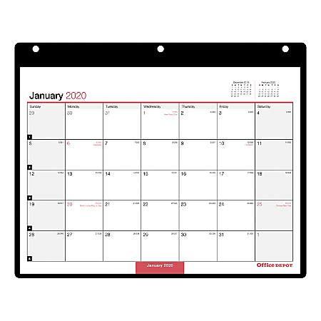 office depot monthly wall calendar office depot