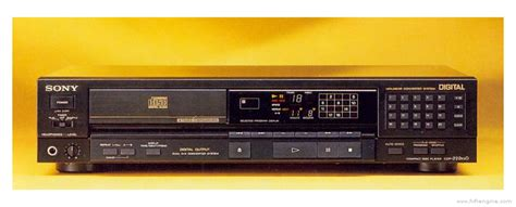 sony cdp es manual compact disc player hifi engine