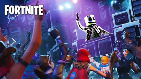 fortnite marshmello concert event schedule
